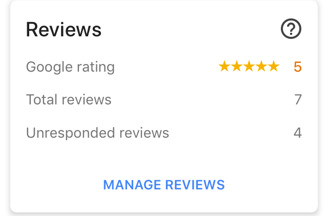 Rated 5 Star by Google